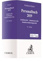 Küttner; Personalbuch 2019