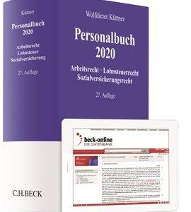 Küttner; Personalbuch 2020