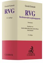 Gerold/Schmidt; Rechtsanwaltsvergütungsgesetz: RVG Kommentar