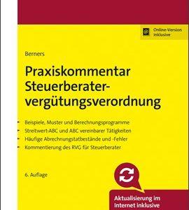 Berners; Praxiskommentar Steuerberatervergütungsverordnung